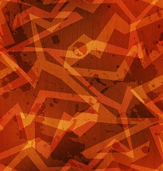 Tribal warm color grunge texture with grunge vector