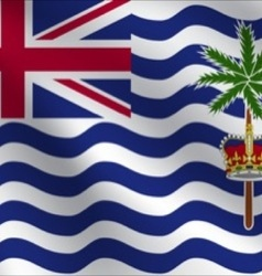 British indian ocean territory flag vector
