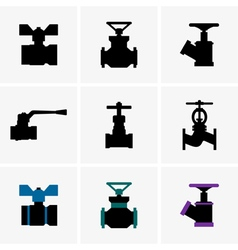 Valves vector image