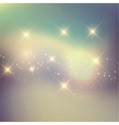 retro stars background 0804 vector image