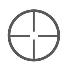 aim icon simple vector image vector image