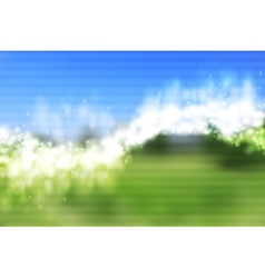 Bright shiny waves background vector