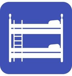 Childrens bedroom vector