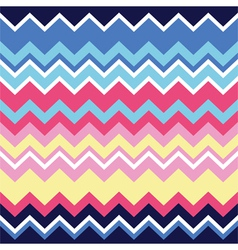 Tribal aztec zigzag seamless pattern print vector