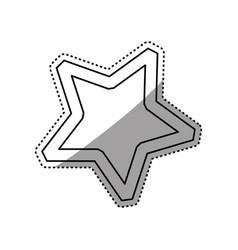star shape symbol vector image