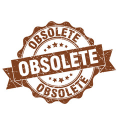 Obsolete stamp sign seal vector