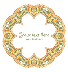 Scrapbook design round element n decorative round vector