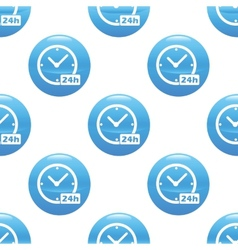24 hours sign pattern vector