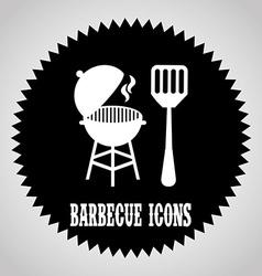 Barbecue design vector
