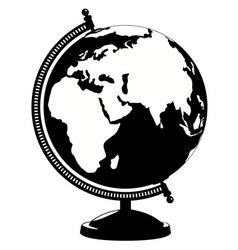 globe icon Isolated on white background vector image