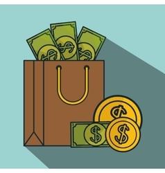 money payment design vector image