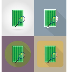 sport flat icons 63 vector image vector image