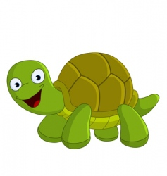 Happy turtle vector
