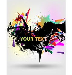 Abstract modern banner vector
