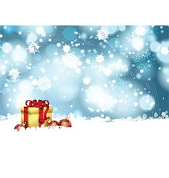 christmas gift background 0110 vector image
