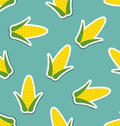 Corn pattern seamless texture vector