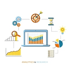 Analytics process vector