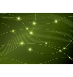 neon abstract background vector image