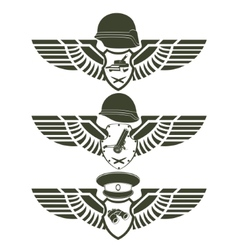 Army badges-1 vector