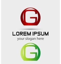 Letter g logo creative concept icon vector