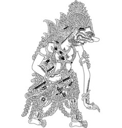 rahwana vector image