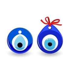Amulet evil eye isolated protective talisman vector