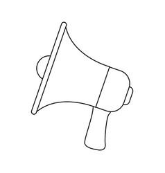 Megaphone announce audio volume voice vector