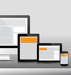 Technology device 3 responsive 380x400 vector