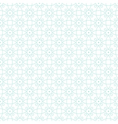 pattern mint geometric dot vector image vector image
