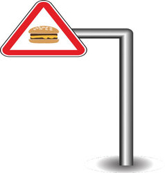 Sign on the stick vector
