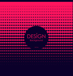 abstract red and dark blue halftone background vector image
