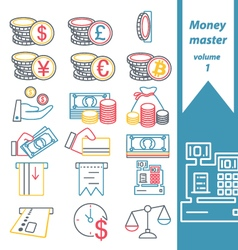 Money master volume 1 vector