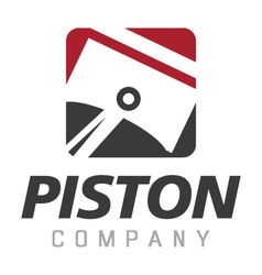 Piston logo vector