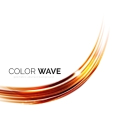 Elegant light smooth wave vector image