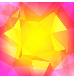 Abstract square triangle background vector