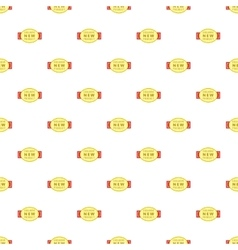 Label exclusive new product pattern cartoon style vector