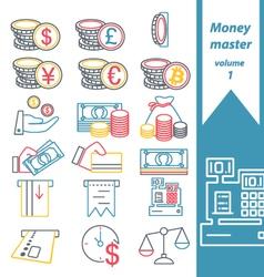 money master volume 1 vector image