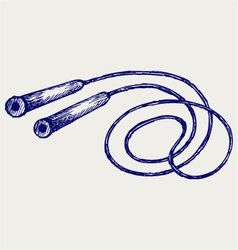 Skipping rope vector