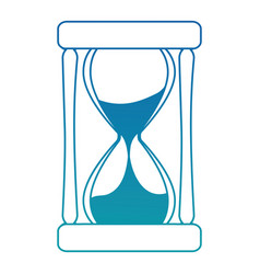 time hourglass isolated icon vector image