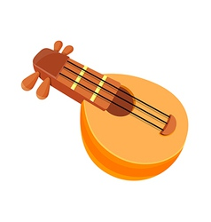 icon string instrument vector image