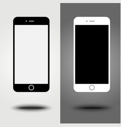 New icon mobile smartphone collection iphon style vector