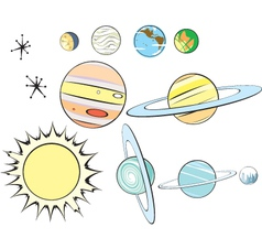 Planets vector