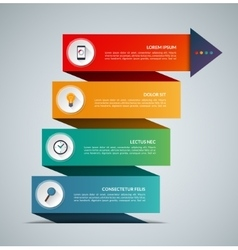 Business growth infographic concept banner vector image