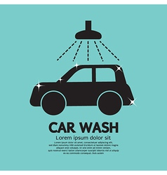 Car Wash vector image vector image