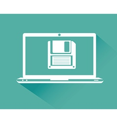 Ebook digital design vector image vector image