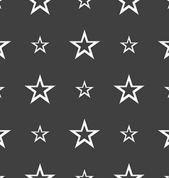 judge hammer icon Seamless pattern on a gray vector image