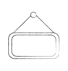 market label door icon vector image