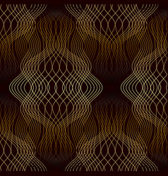 seamless guilloche backgrounds vector image