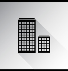 Buildings icon vector