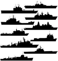 Amphibious assault ship vector